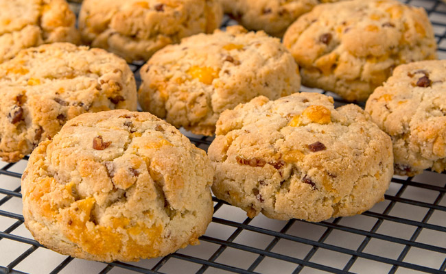 Cheddar Bacon Cream Biscuits Recipes — Dishmaps