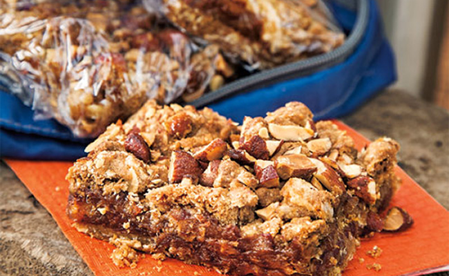 Have a Date Night with Almond Date Bars