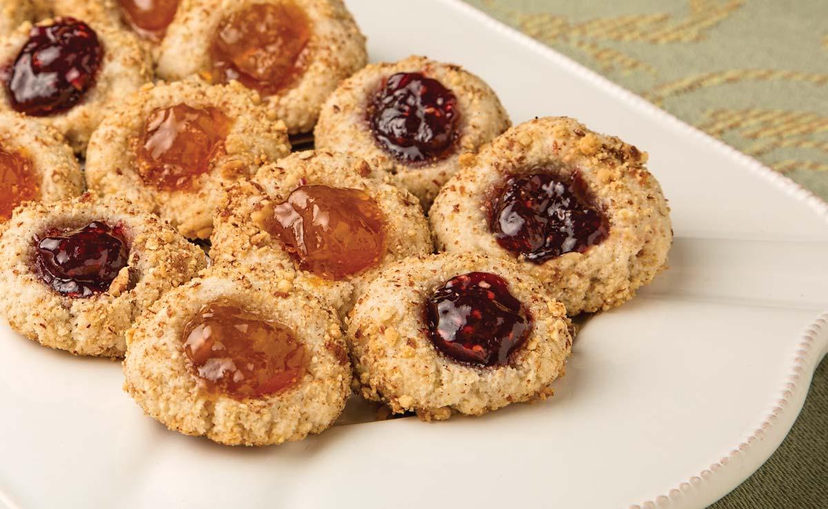 Almond Thumbprint Cookies – Blue Diamond Almond Recipes