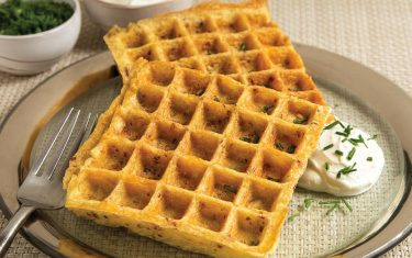 Update Your Waffle Recipe with Almond Flour and Potatoes