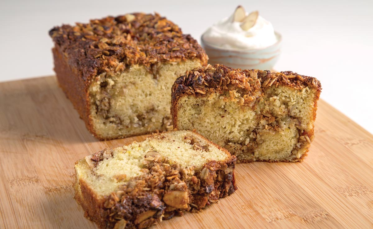 Almond Streusel Coffee Cake