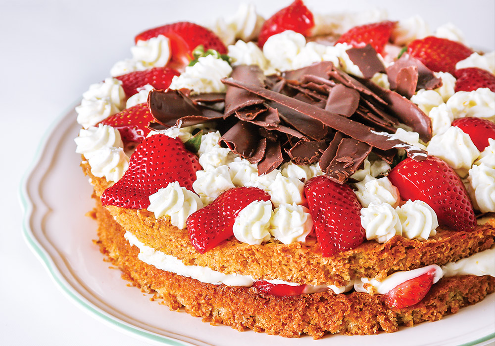 A Beautiful, Versatile, Gluten-Free Almond Cake for Mother's Day from Renowned Celiac Chef Oonagh Williams