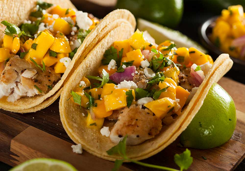 Try a New Take on a California Favorite: Beer-Battered Fish Tacos Made with Almond Flour
