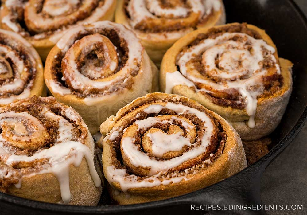 Make Yourself at Home with Gluten-Free Cinnamon Rolls