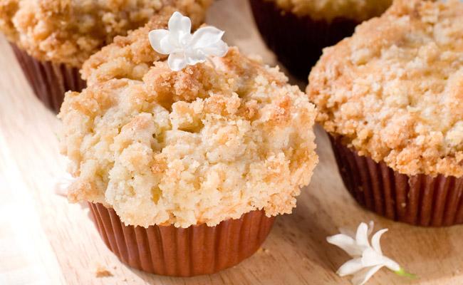 Pumkin Streusel Muffins