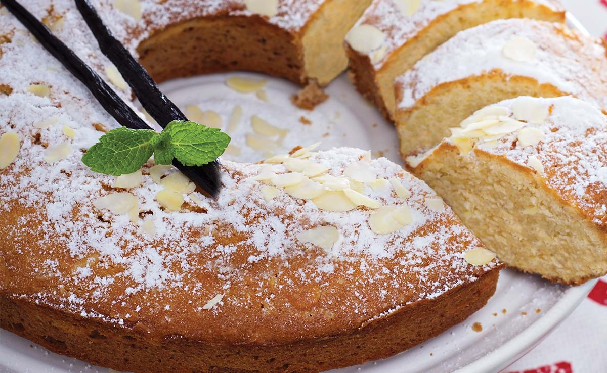 Spread the Love with Blue Diamond's Almond Flour Cake