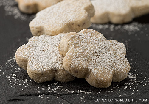 Vienese cookies made with almond flour