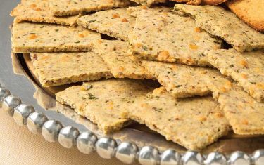 Blue Diamond's Garlic Parmesan Crackers