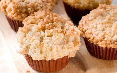 Pumpkin Streusel Muffins with almond flour