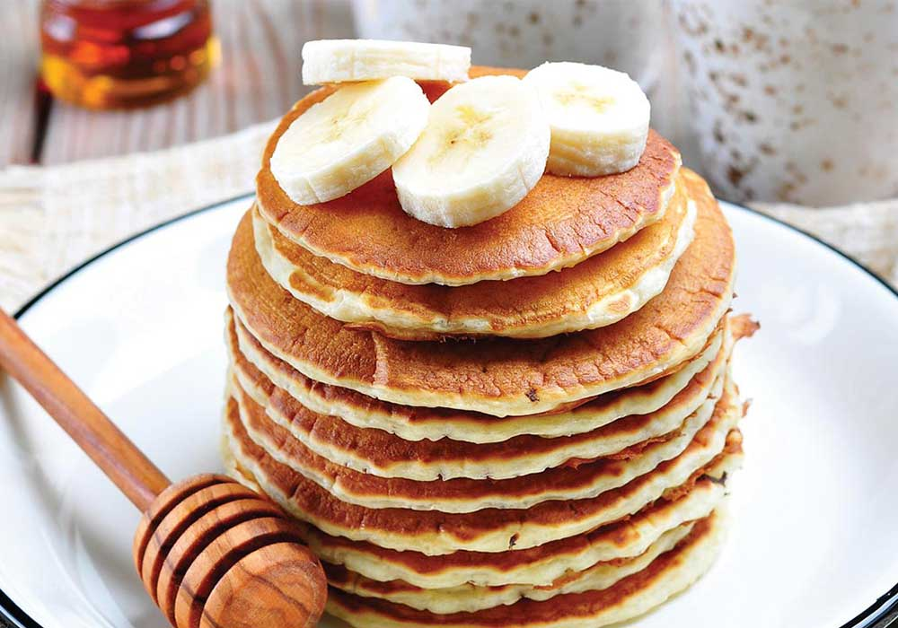 Banana Nut Pancakes: Make your Breakfast Count