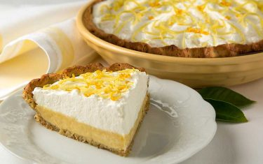 Blue Diamond Lemon Cream Pie