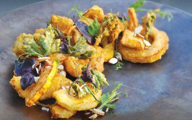 Fried Tempura Squash